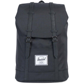 Herschel Retreat Sac à dos 19,5l, black/black